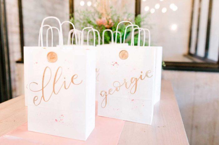 personalised gift bags