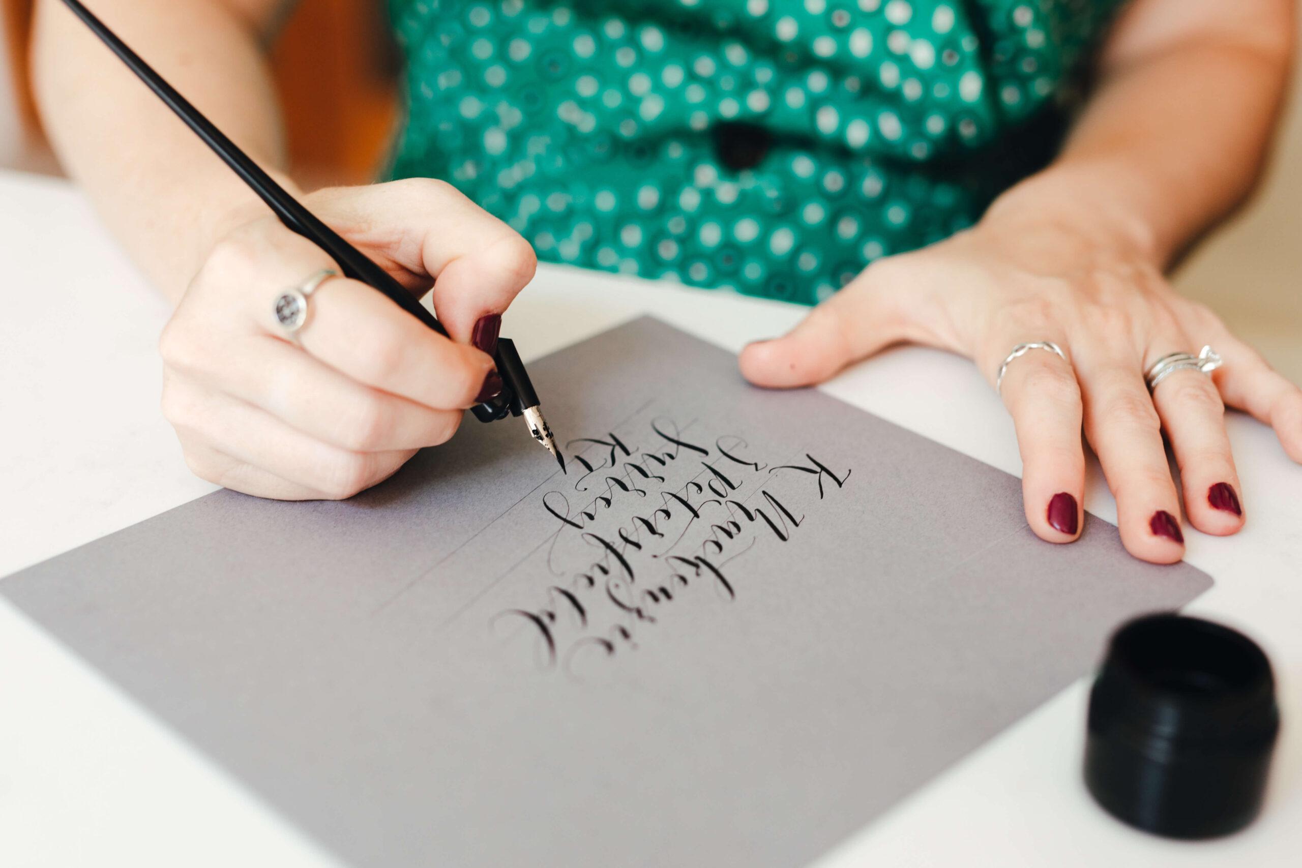 calligraphy teacher