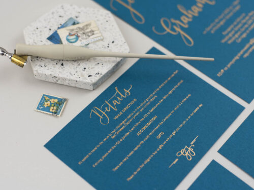 stationery print options