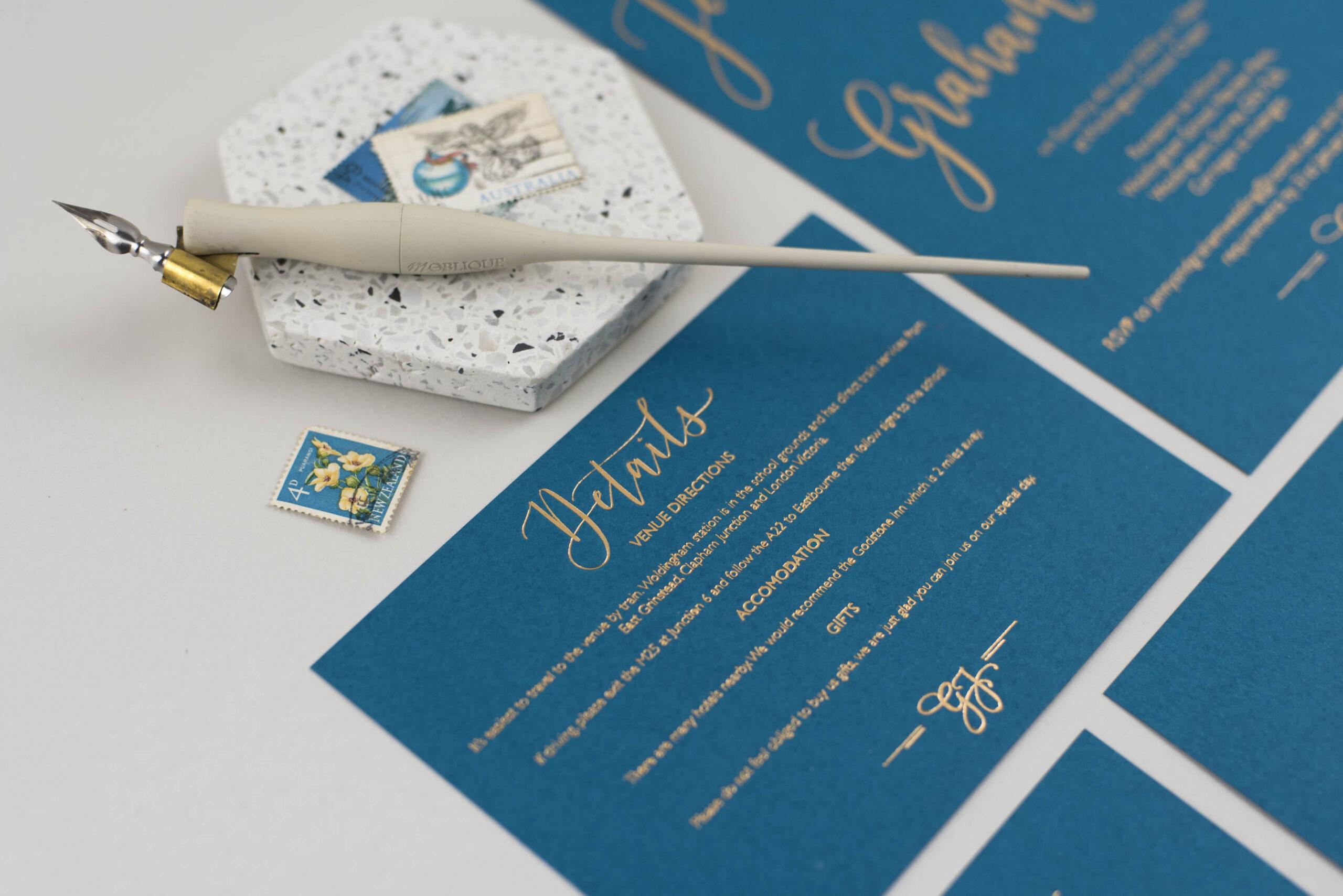 stationery print options